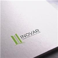 Inovar Empreiteira de Mão de Obra, Logo e Identidade, Construção & Engenharia