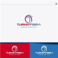 TURKEYNET FIBRA ÓPTICA, Logo e Identidade, Computador & Internet