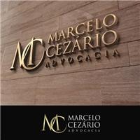 Marcelo Cezário Advocacia, Logo e Identidade, Advocacia e Direito