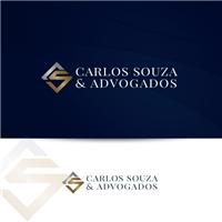 CARLOS SOUZA & ADVOGADOS, Logo e Identidade, Advocacia e Direito