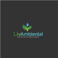 Liv Ambiental - Projetos e consultoria nas áreas de saneamento e meio , Logo e Identidade, Construção & Engenharia