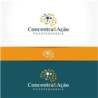 Concentra&Ação - Psicopedagogia, Logo e Identidade, Educação & Cursos