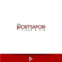 Port'Sapori Pizzas & Cia, Logo e Identidade, Alimentos & Bebidas
