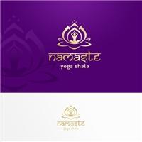 Namaste Yoga Shala, Logo e Identidade, Educação & Cursos