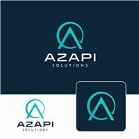 Azapi Solutions, Logo e Identidade, Tecnologia & Ciencias