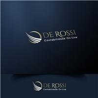 De Rossi Contabilidade On-Line, Logo e Identidade, Contabilidade & Finanças