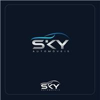 SKY AUTOMOVEIS / AUTOMOVEIS MULTIMARCAS novos e usados, Logo e Identidade, Automotivo