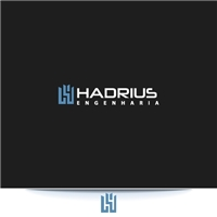 Hadrius Engenharia, Logo e Identidade, Construção & Engenharia