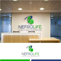 NEFROLIFE, Logo e Identidade, Saúde & Nutrição