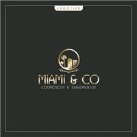 Miami&Co. Cosméticos e Suplementos, Logo e Identidade, Beleza