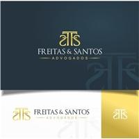 Freitas & Santos Advogados, Logo e Identidade, Advocacia e Direito