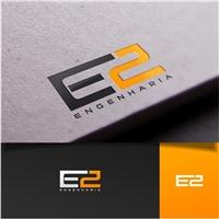 E2 Engenharia LTDA, Logo e Identidade, Construção & Engenharia