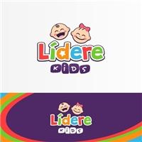 Lídere Kids, Logo e Identidade, Crianças & Infantil