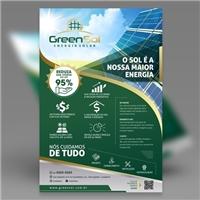 Green Sol Energia Solar, Peças Gráficas e Publicidade, Tecnologia & Ciencias