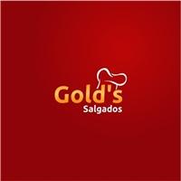 Gold's Salgados , Logo e Identidade, Alimentos & Bebidas