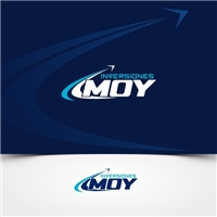 INVERSIONES MOY, Logo e Identidade, Logística, Entrega & Armazenamento