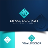 Oral Doctor Medicina & Odontologia , Logo e Identidade, Saúde & Nutrição
