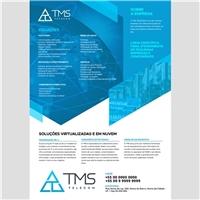 TMS Telecomunicações Ltda - TMS Telecom, Peças Gráficas e Publicidade, Tecnologia & Ciencias