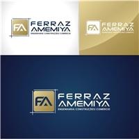 Ferraz Amemiya Engenharia e Construções, Logo e Identidade, Construção & Engenharia