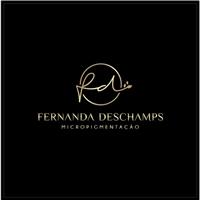 Fernanda Deschamps Micropigmentação, Logo e Identidade, Beleza