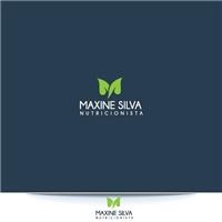 MAXINE SILVA nutricionista, Logo e Identidade, Saúde & Nutrição
