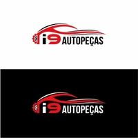 I9 Autopeças, Logo e Identidade, Automotivo