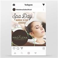 MADALENA SALÃO DE BELEZA, Marketing Digital, Beleza
