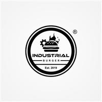 Industrial Burger, Logo e Identidade, Alimentos & Bebidas