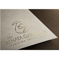 DRA. RENATA GABRIELLY, Logo e Identidade, Saúde & Nutrição
