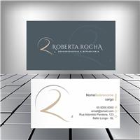 ROBERTA ROCHA, Logo e Identidade, Saúde & Nutrição
