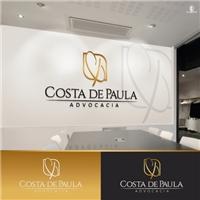 Costa de Paula Advocacia, Logo e Identidade, Advocacia e Direito