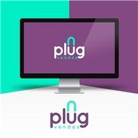 PlugVendas, Logo e Identidade, Computador & Internet
