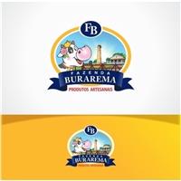 Fazenda Burarema- Produtos Artesanais, Logo e Identidade, Alimentos & Bebidas