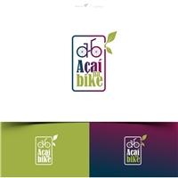 Açaí Na Bike / Açaí Bike, Logo e Identidade, Alimentos & Bebidas