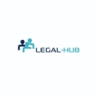 Legal-hub, Logo e Identidade, Advocacia e Direito