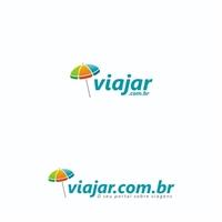 viajar.com.br | Portal de viagens, Logo e Identidade, Viagens & Lazer