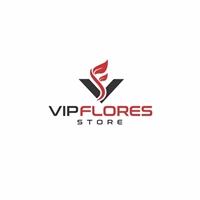 Vip Flores Store, Logo e Identidade, Outros