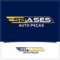SB Ases Auto Perças, Logo e Identidade, Automotivo