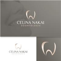 Celina Nakai Odontologia, Logo e Identidade, Saúde & Nutrição