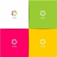 iClubs, Logo e Identidade, Tecnologia & Ciencias