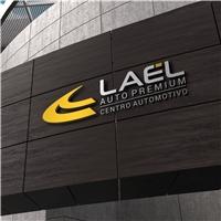 LAEL AUTO PREMIUM - CENTRO AUTOMOTIVO, Logo e Identidade, Automotivo