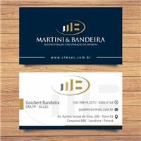 Martini & Bandeira, Logo e Identidade, Consultoria de Negócios