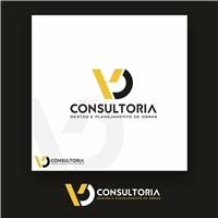 VD Consultoria - Gestão e Planejamento de Obras, Logo e Identidade, Construção & Engenharia