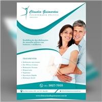Clinica Claudia Guimarães / Fisioterapia Pélvica, Peças Gráficas e Publicidade, Saúde & Nutrição