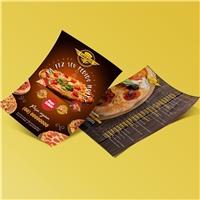 PIZZA GARAGE, Peças Gráficas e Publicidade, Alimentos & Bebidas