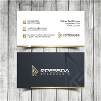 RPESSOA ENGENHARIA, Logo e Identidade, Construção & Engenharia