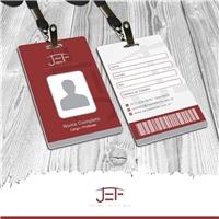 JEF Engenharia, Logo e Identidade, Construção & Engenharia
