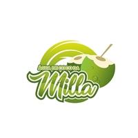Água de Coco da Milla, Logo e Identidade, Alimentos & Bebidas