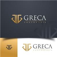 Greca Engenharia, Logo e Identidade, Construção & Engenharia