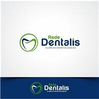 Rede Dentalis Clínicas Odontológicas, Logo e Identidade, Saúde & Nutrição
